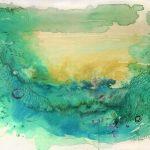 Underwater Land/Scape I / 80×60 cm.