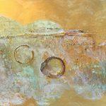 Golden Haze / 100×40 cm.