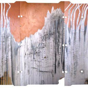 The Mountain / 270×190 cm. tríptico