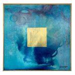 Finestres Baixlaigua / 45×45 cm.